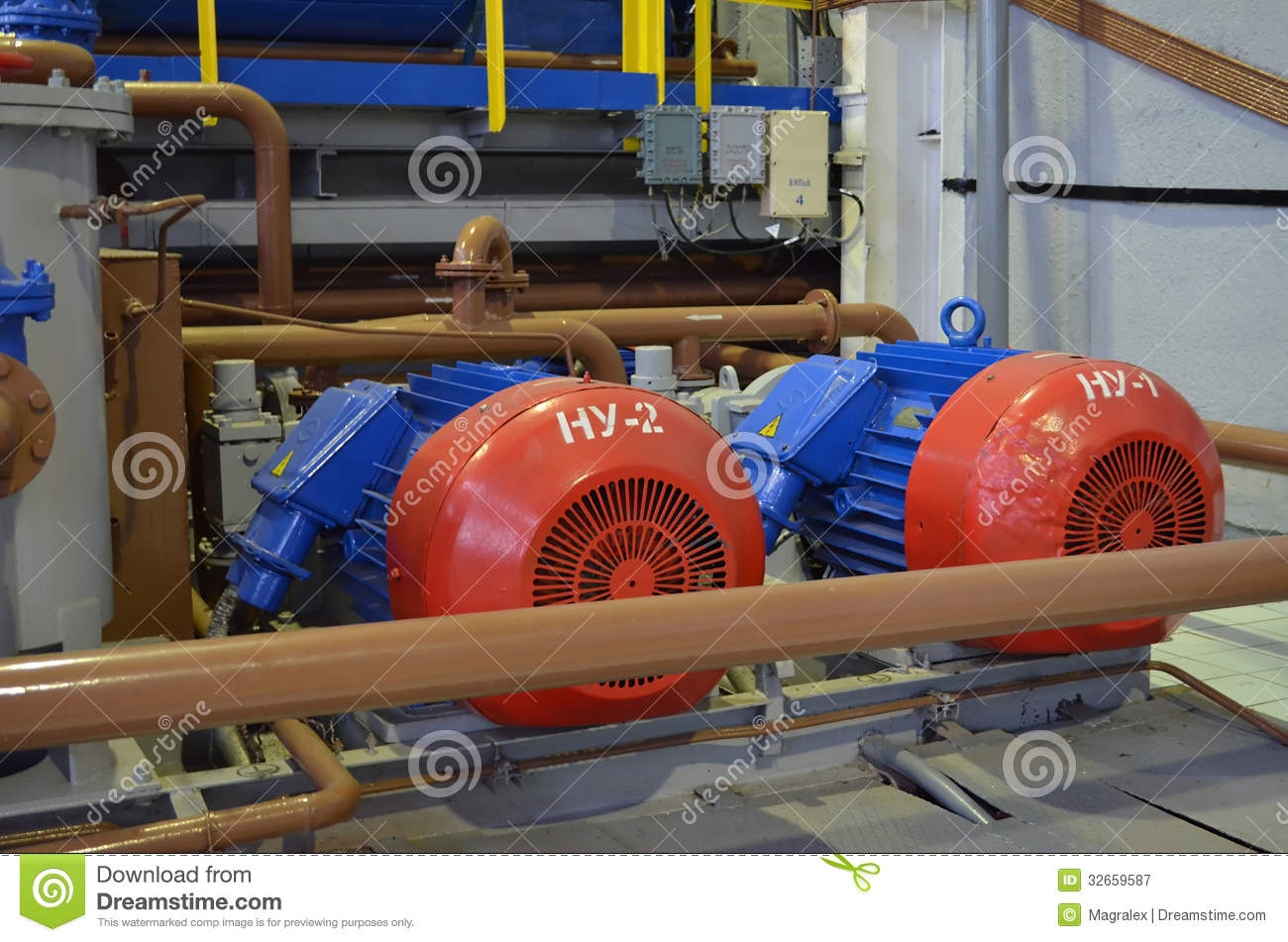 Powerful electric motors royalty free stock photography for Most powerful electric motor