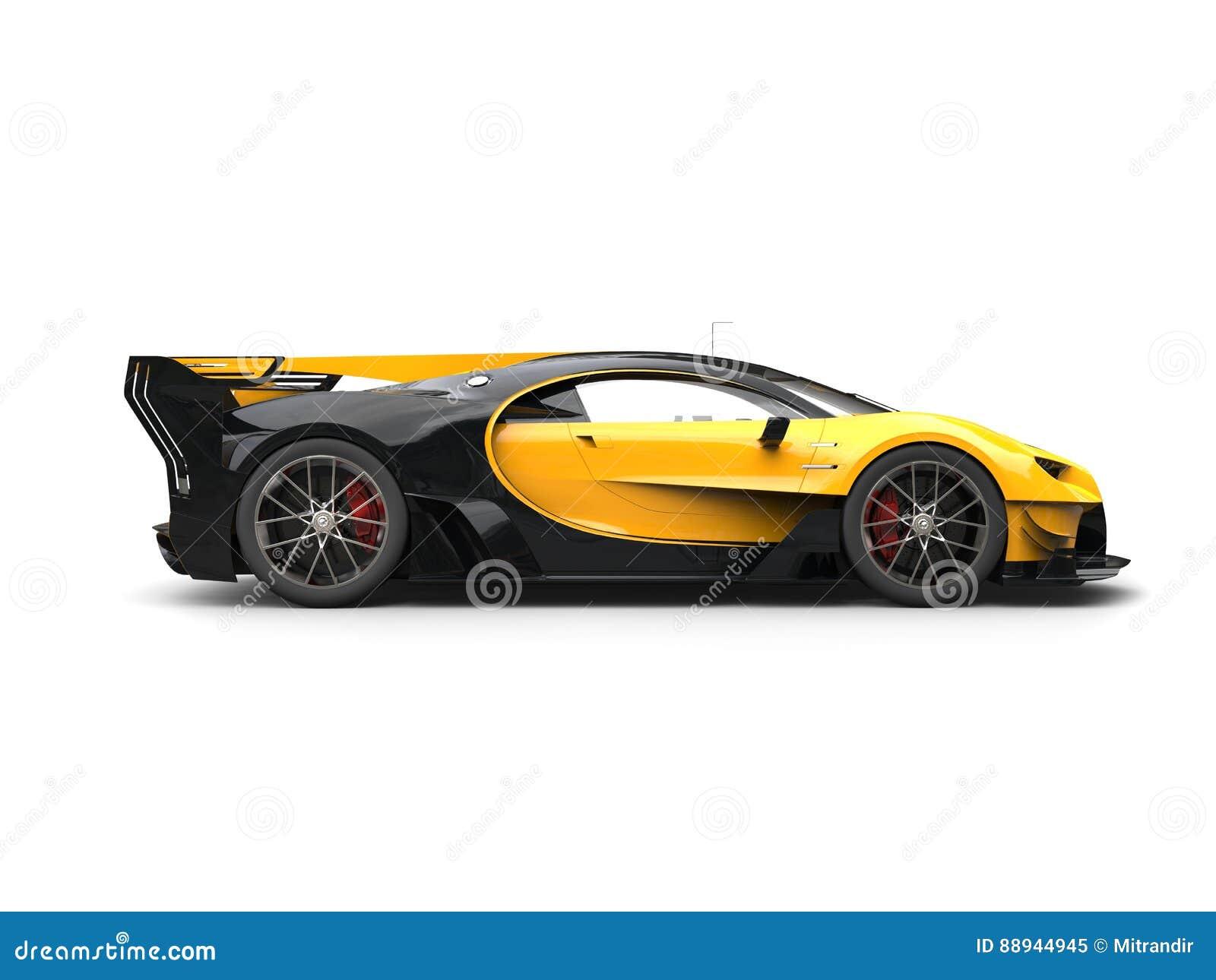 Powerful Yellow Super ...