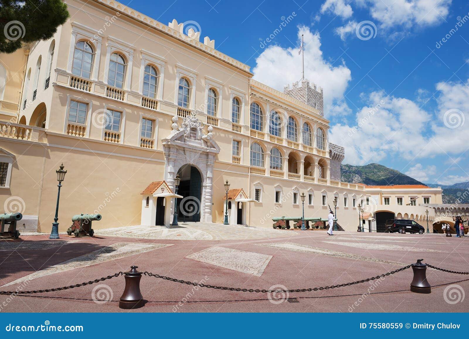 Powierzchowność Prince&-x27; s pałac w Monaco, Monaco
