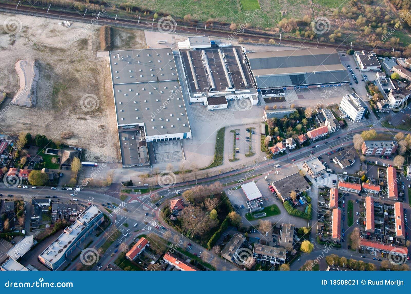Powietrzny Breda miasta holandii widok