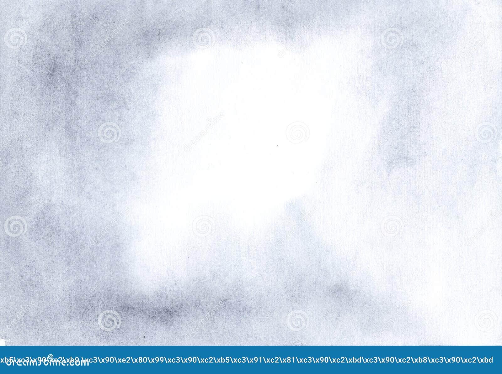 Powiewny Błękitny akwarela papieru tło