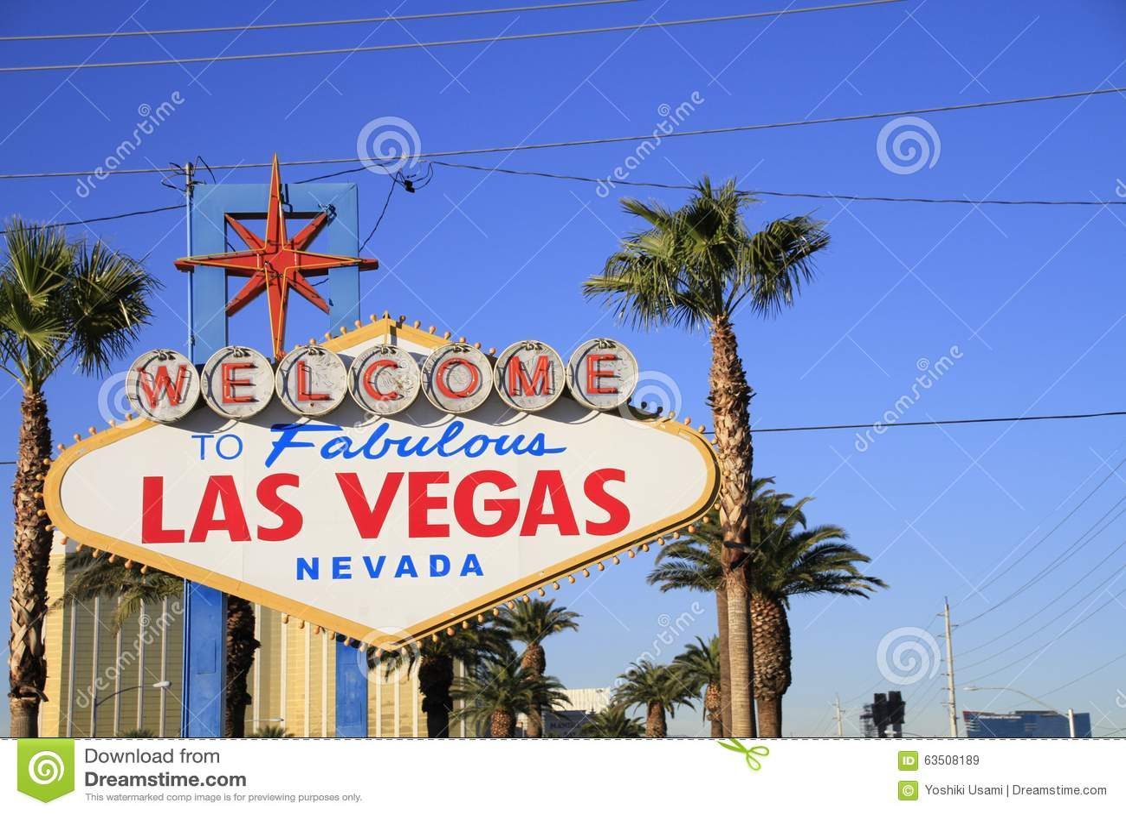 Powitanie Nigdy Spać miasto Las Vegas, Ameryka, usa