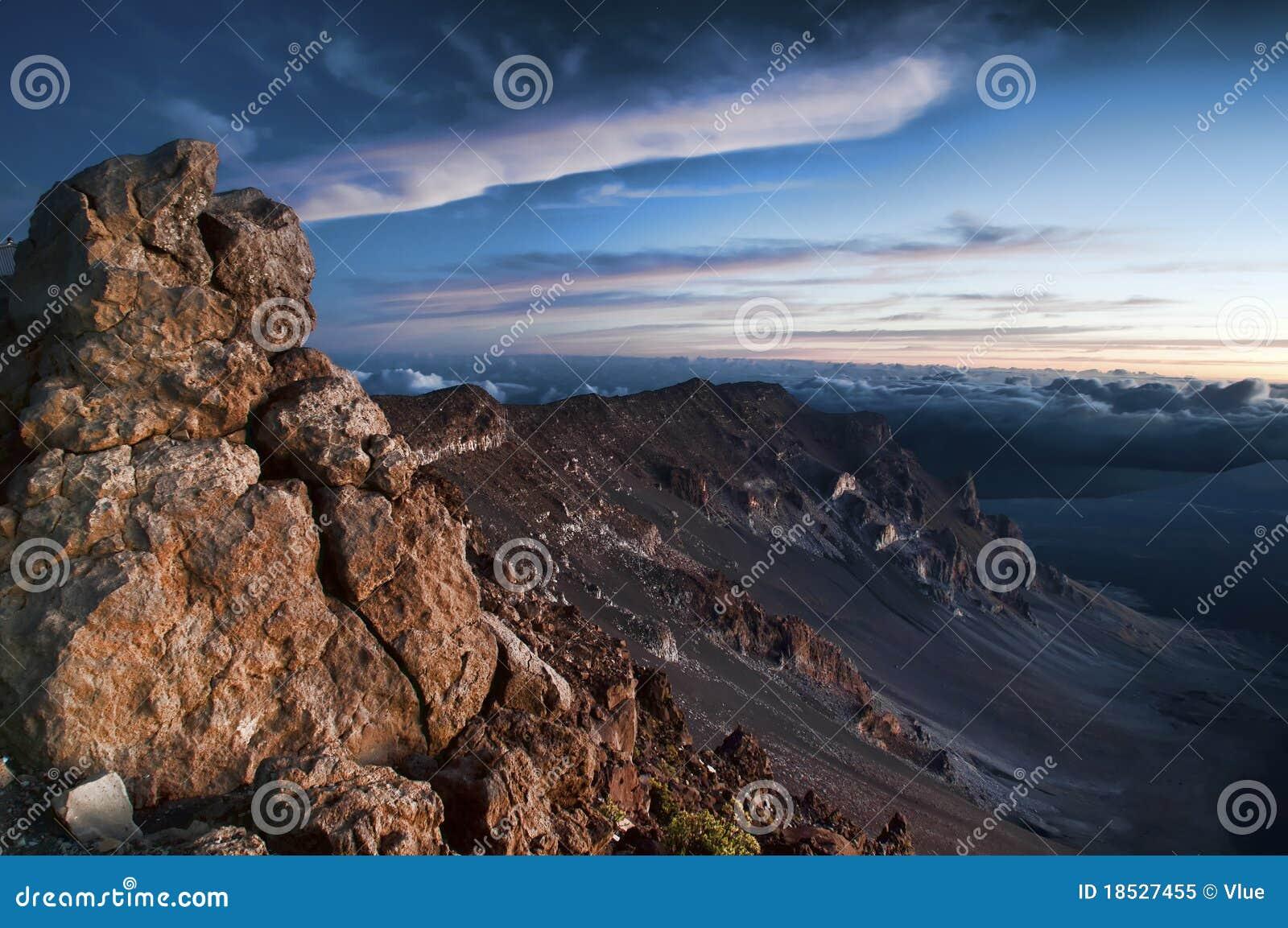Powulkaniczny haleakala park narodowy