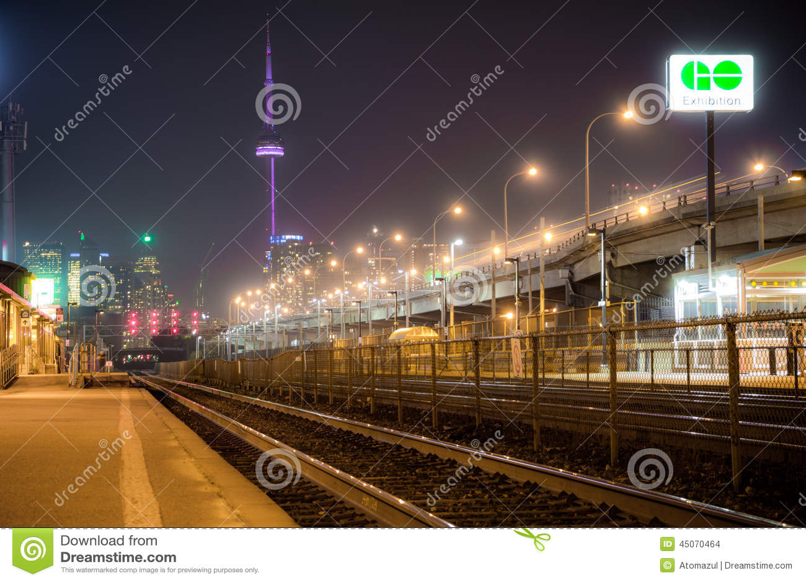 Powystawowy miejsce Iść dworzec Toronto