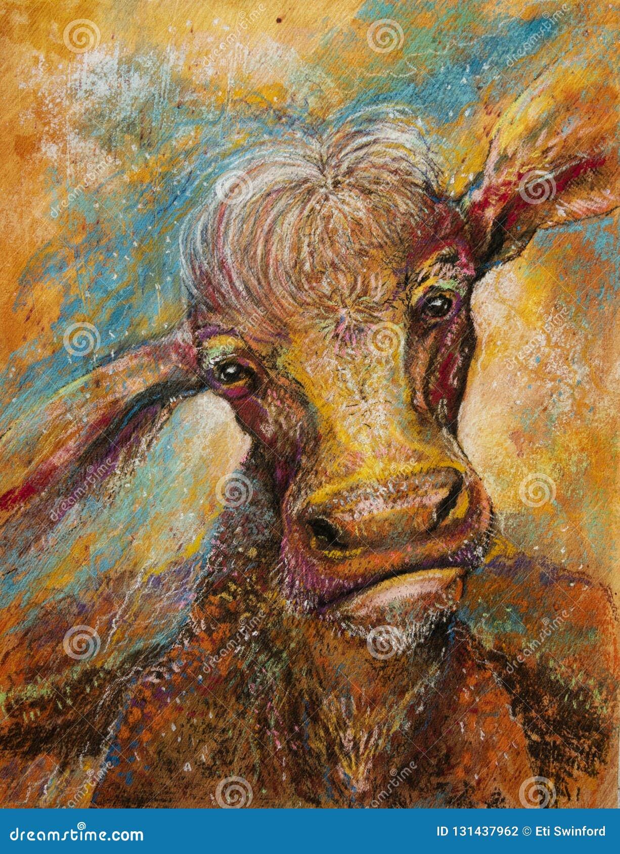 Pozaziemska krowy sztuka