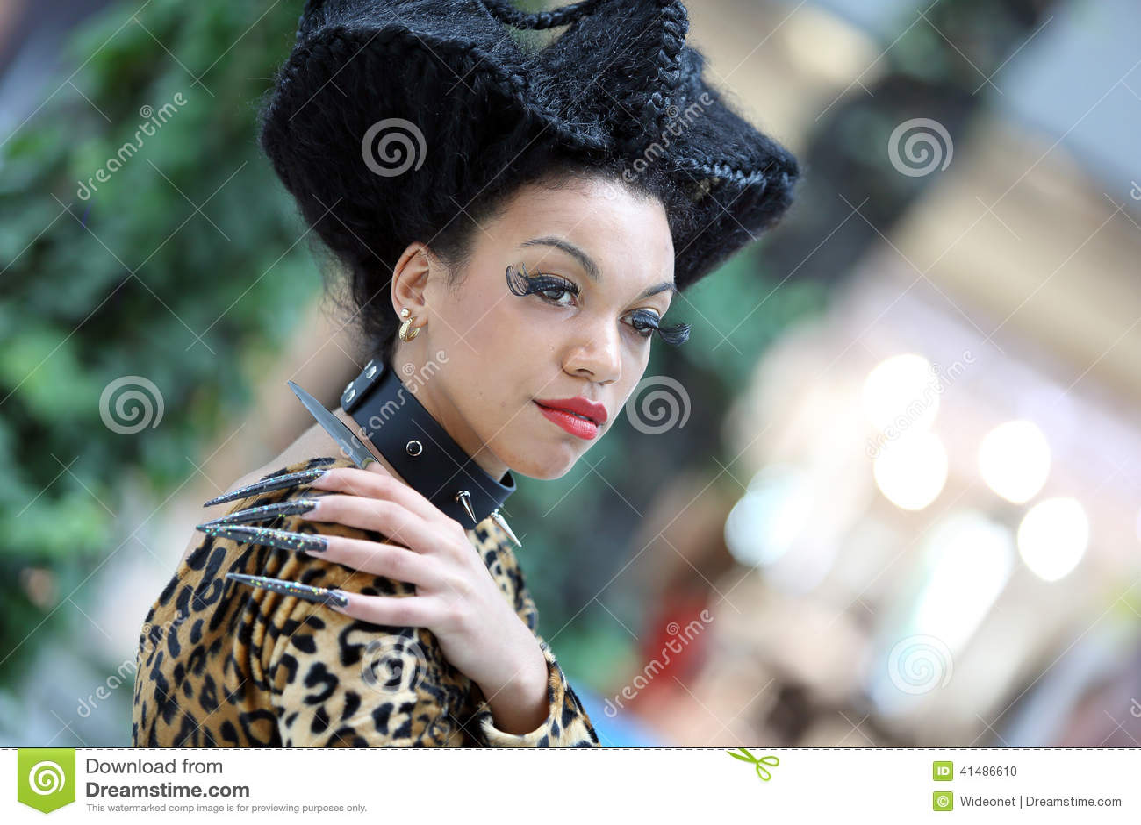 POZNAN - APRIL 26: Look Beauty Fashion Forum Poznan 2014. Editorial ...