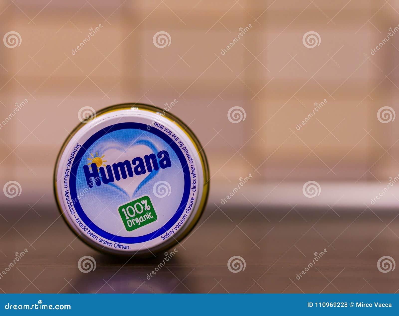 Humana organic baby food