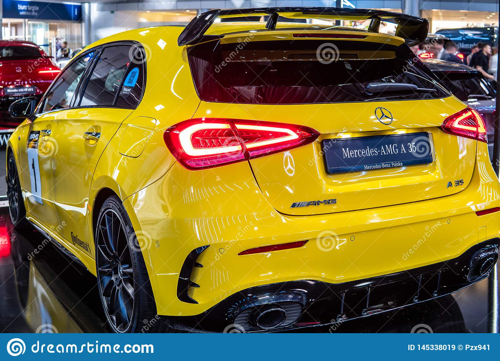 Mercedes-AMG A 35 4MATIC+ W177 A-Class car produced by Mercedes Benz