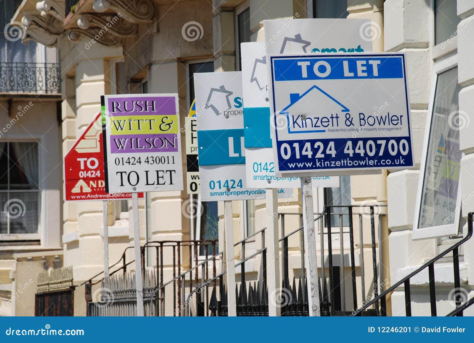 Pozwalać majątkowego signage