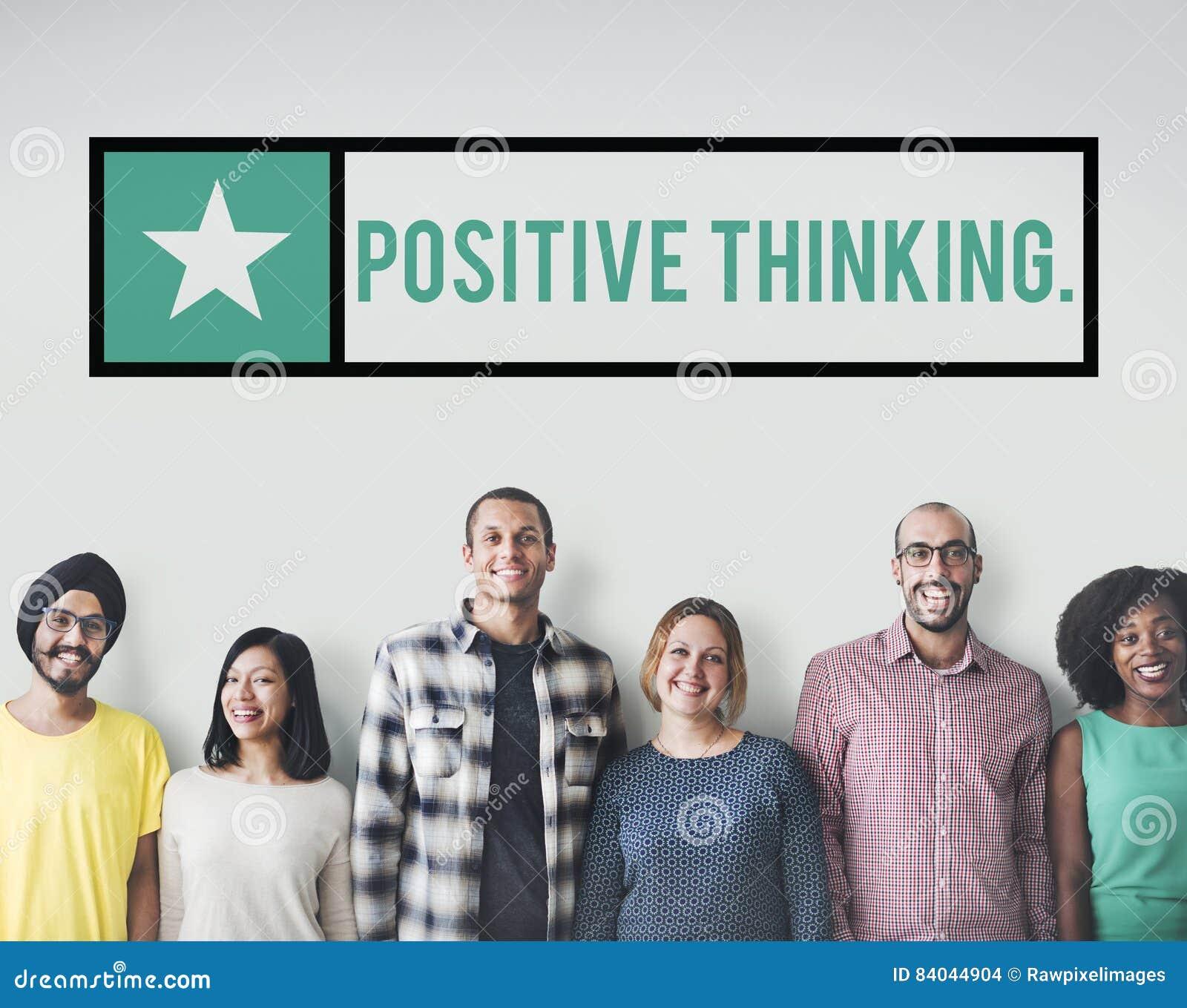 Pozytywna Myśląca Wyborowa postawa Inspiruje ostrości pojęcie