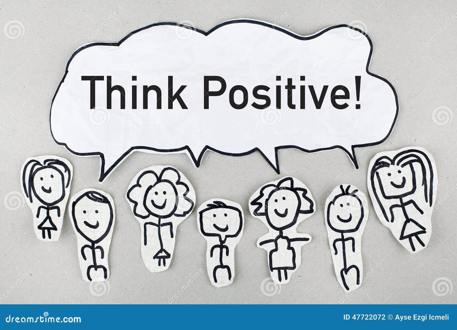 Pozytywna Myśl Zdjęcie Stock Obraz Złożonej Z Mądrość