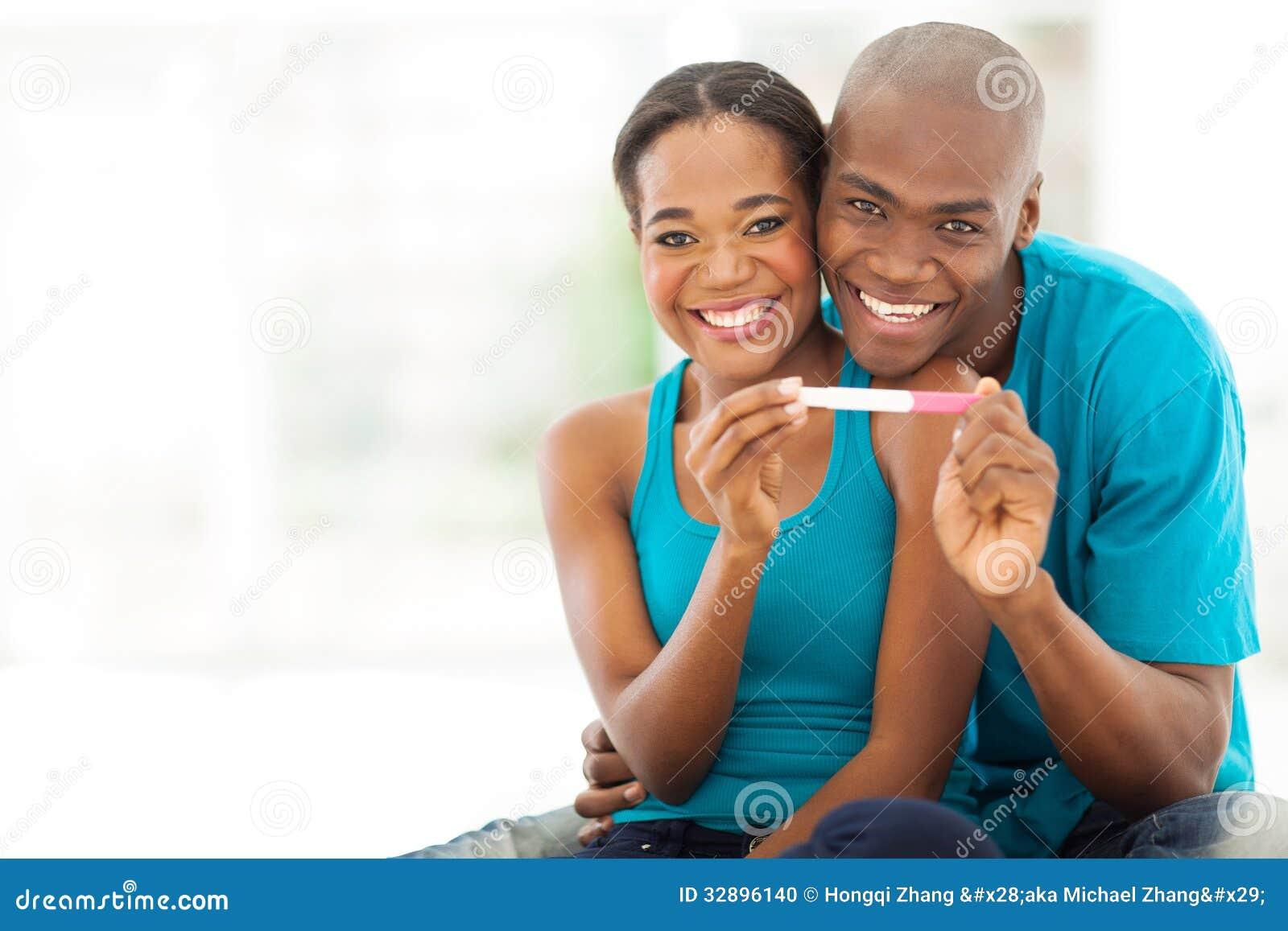 Pozytywny ciążowy test
