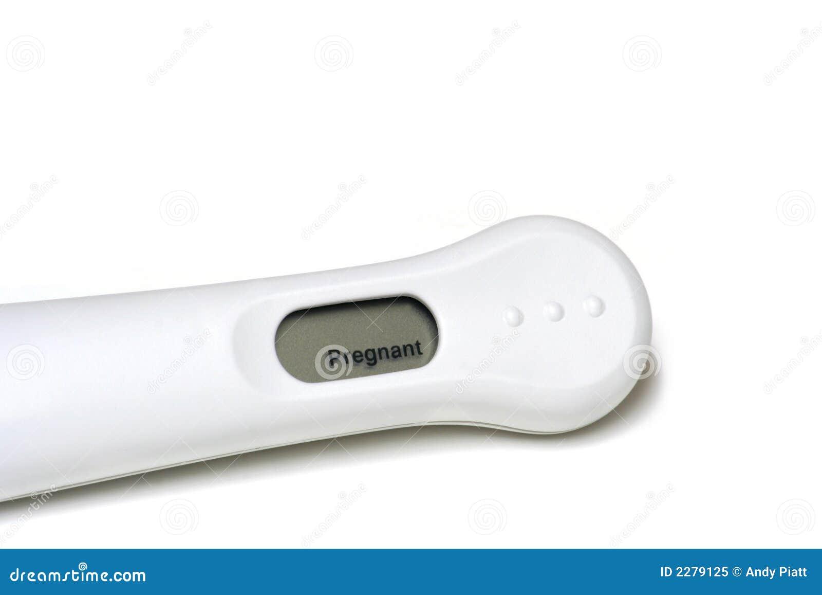 Pozytywny test ciążowy wyników