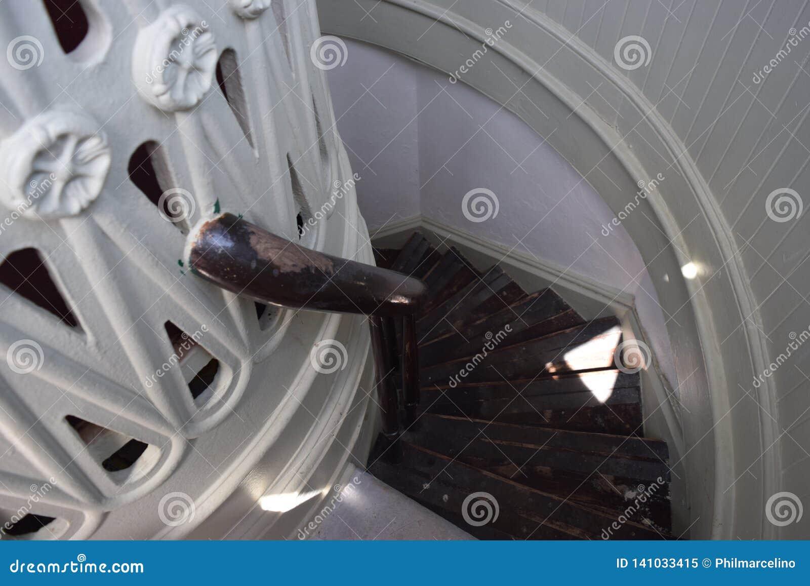 Pozzo delle scale Bermude del faro di St David