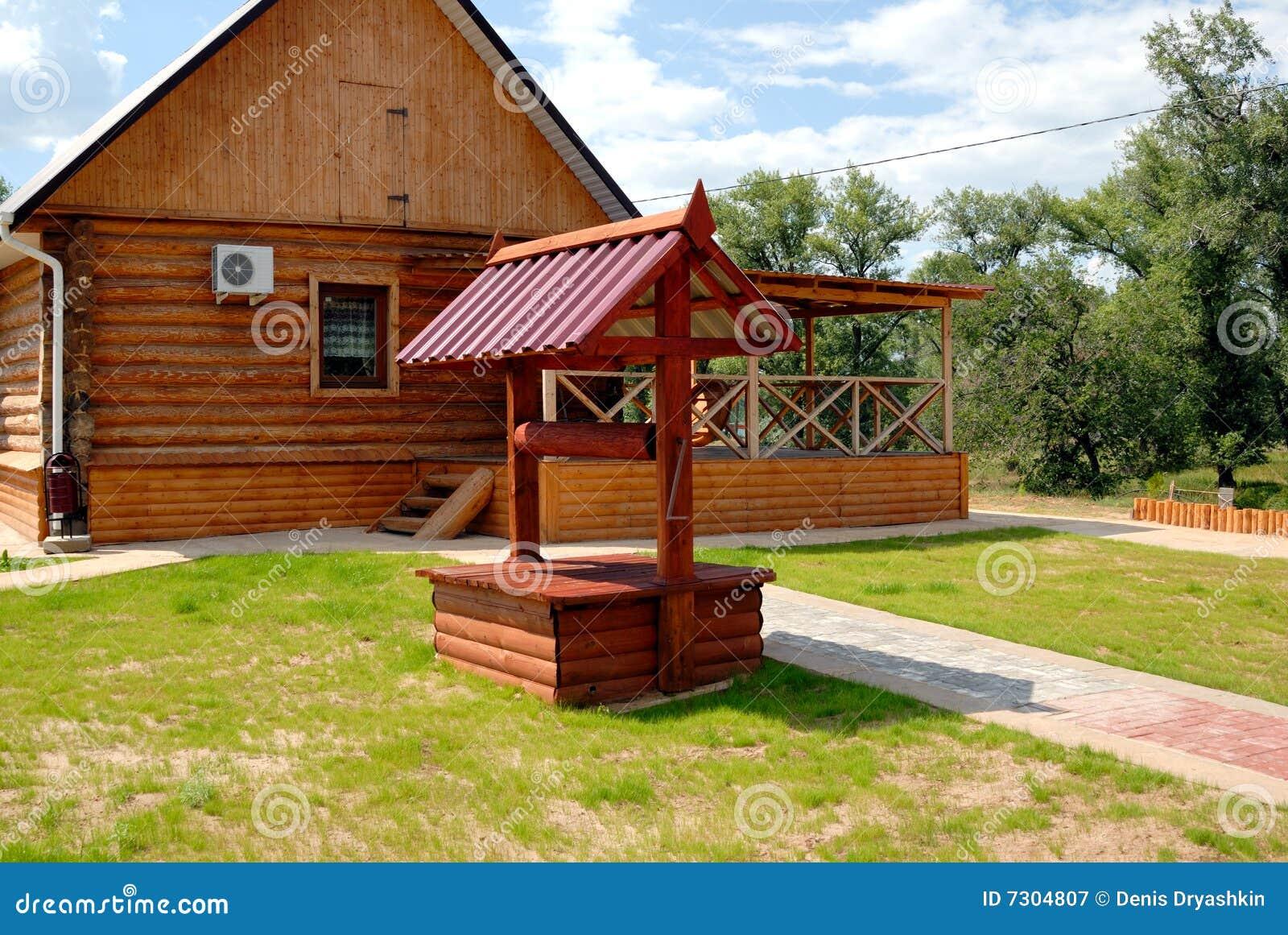 Pozzo di legno