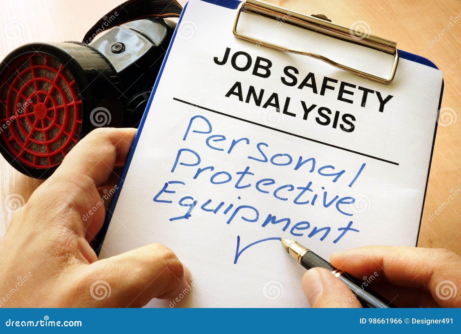 PPE personnel d équipement de protection