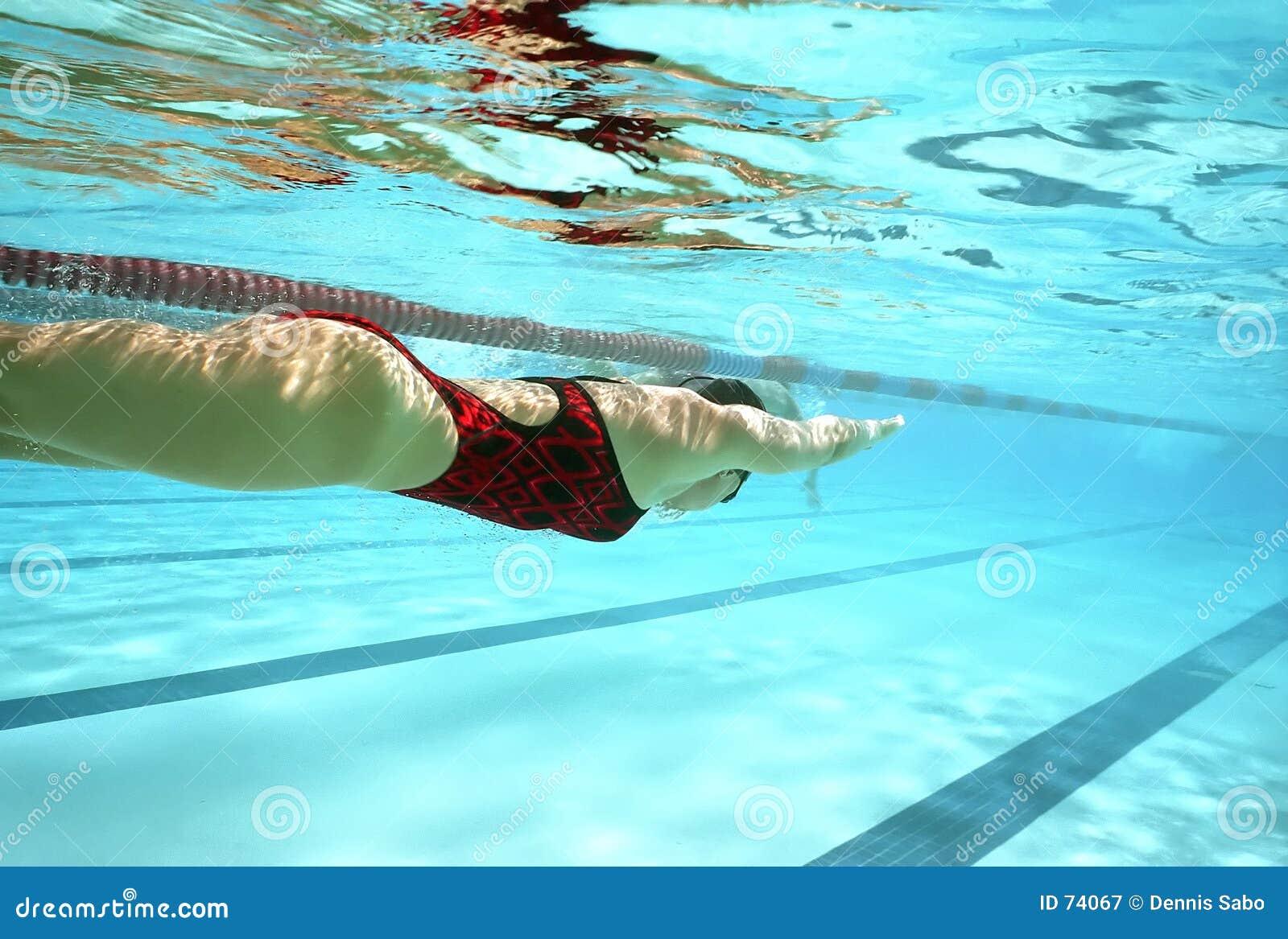 Práctica de la nadada