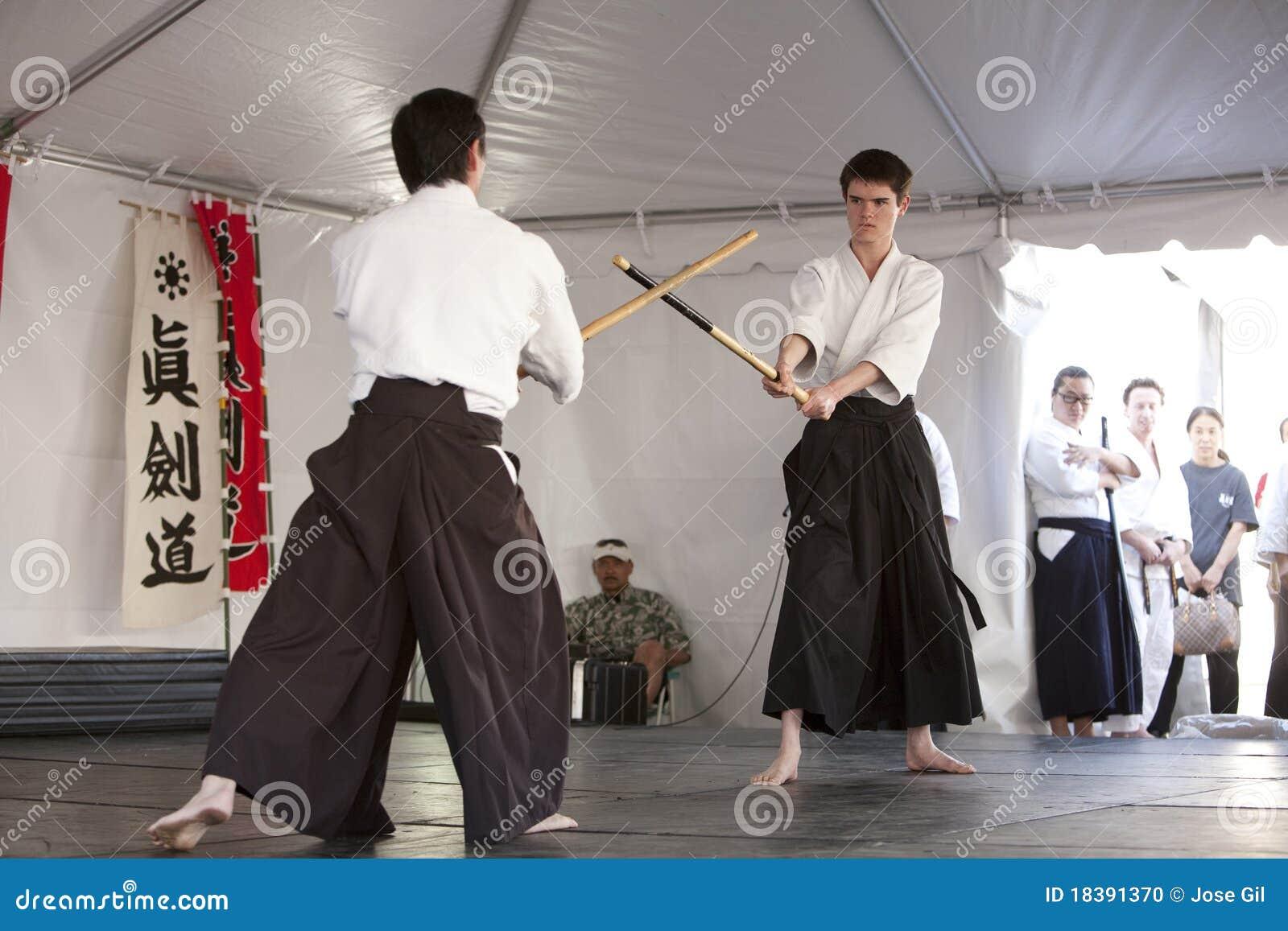 Práctica de Shinkendo