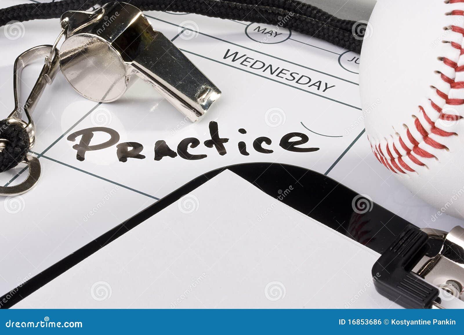 Prática do basebol