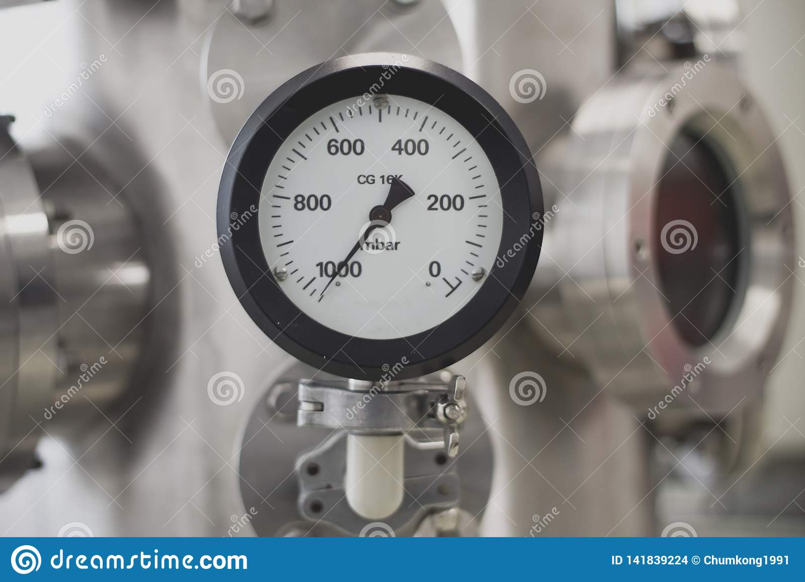 Próżniowy ciśnieniowy wymiernik