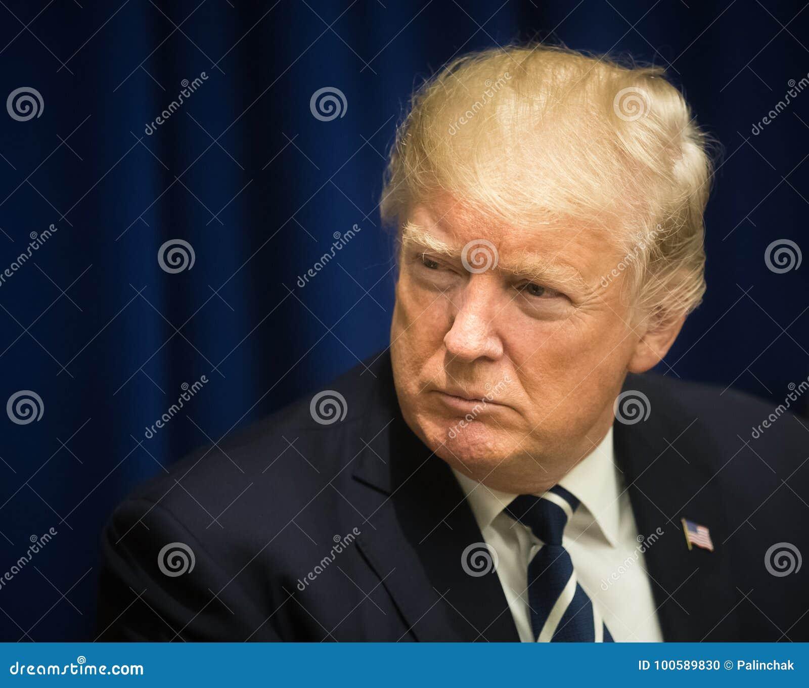 Präsident der Vereinigten Staaten Donald Trump