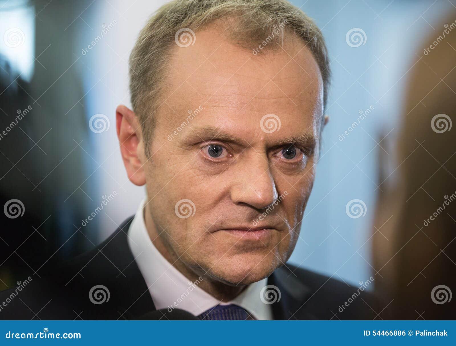 Präsident des Europäischen Rates Donald Tusk