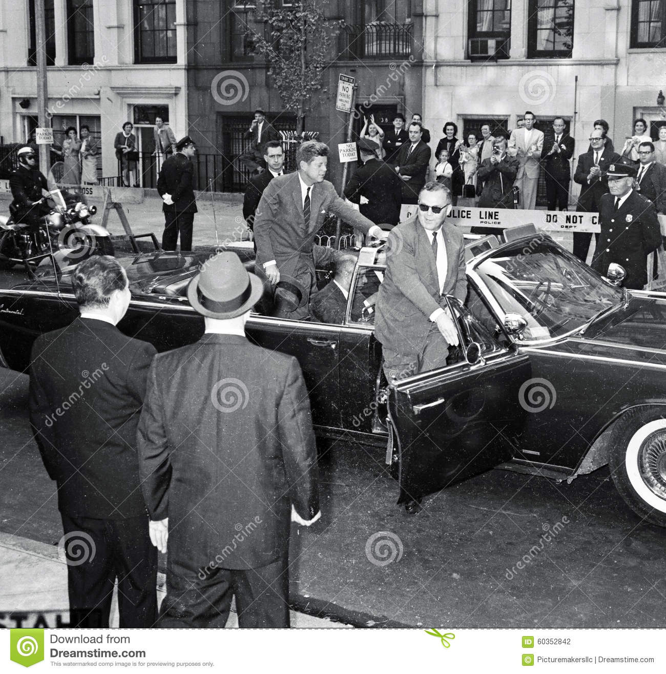Präsident John F Kennedy In NYC