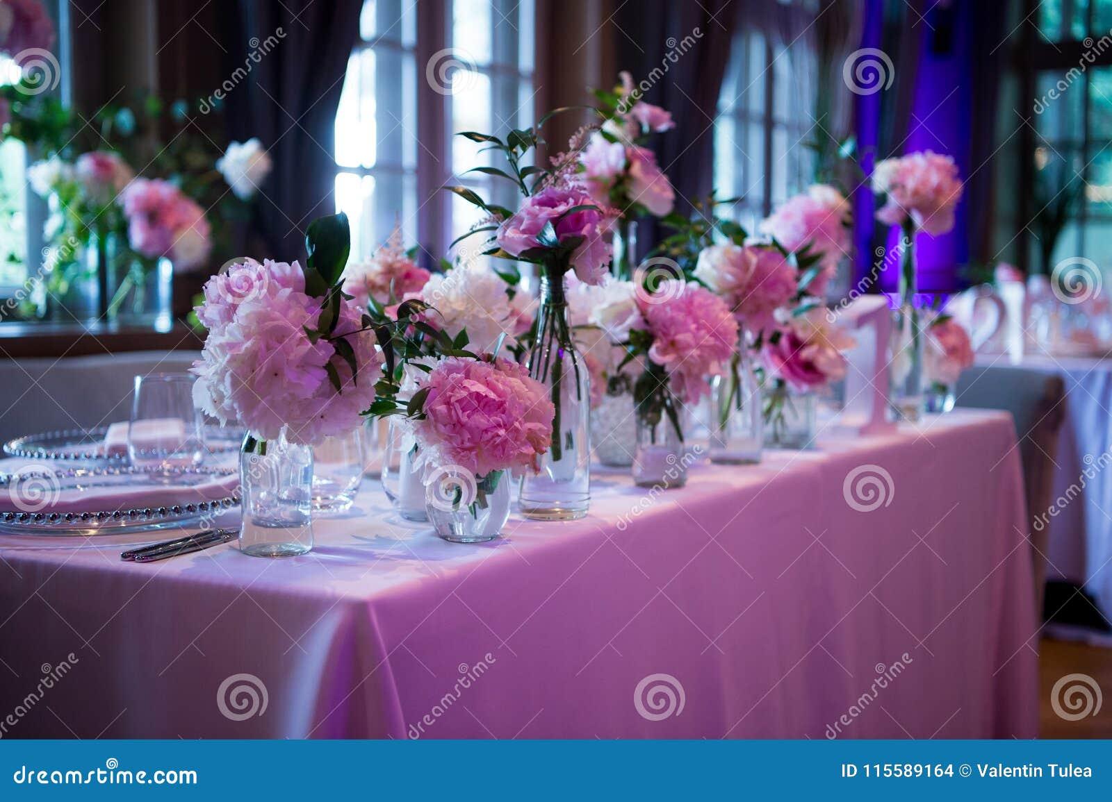 Präsidium, Hochzeitstafel für ein Paar oder zwei innen Formal, Heirat