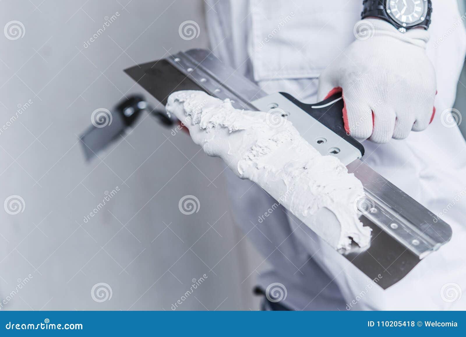 Préparation à la correction de cloison sèche