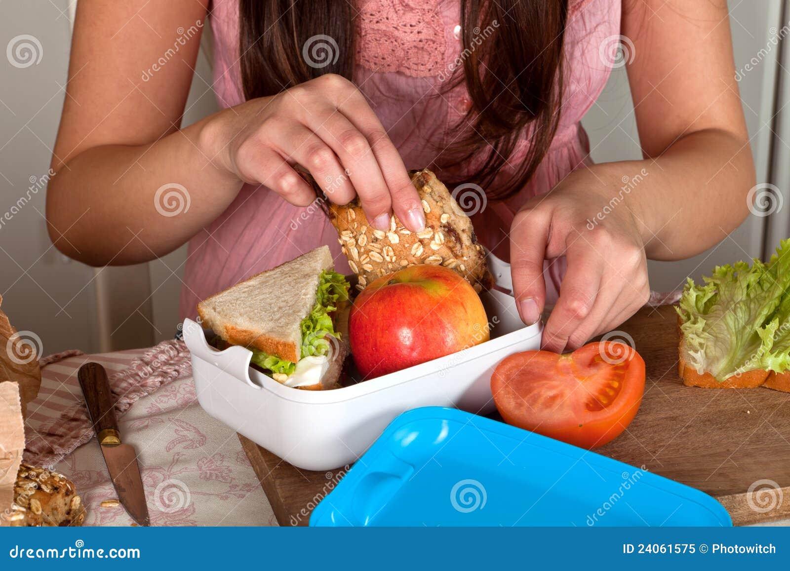 Préparation d un panier-repas