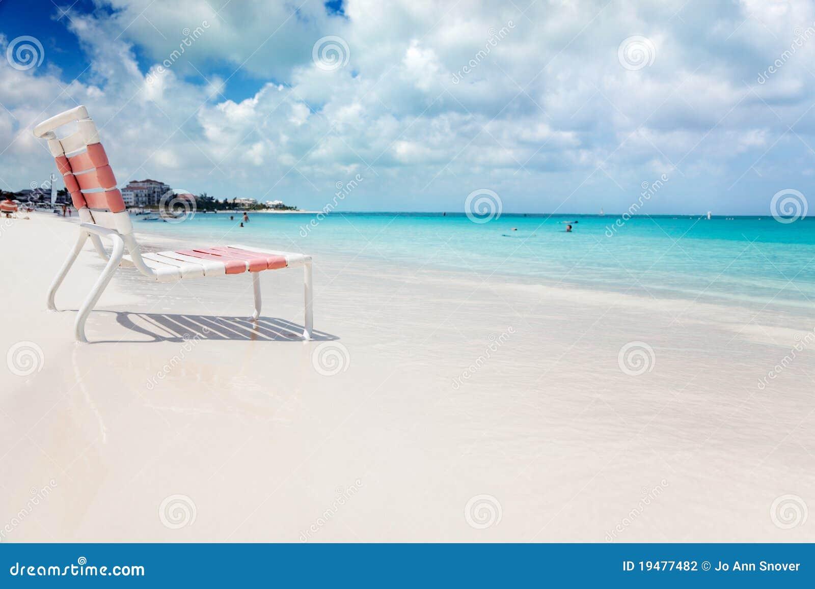Présidence de plage dans le compartiment de grace