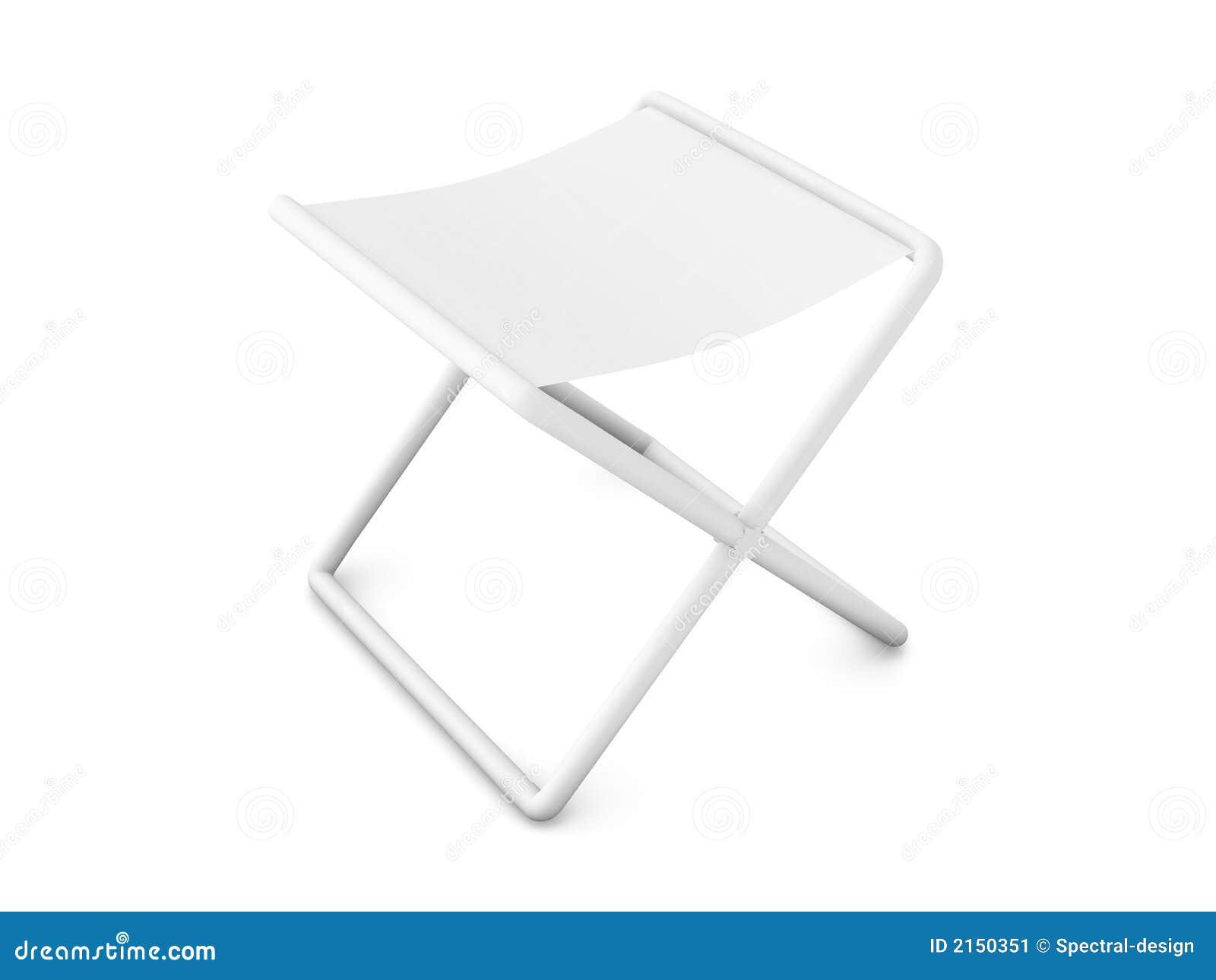 Présidence de pliage - blanc pur