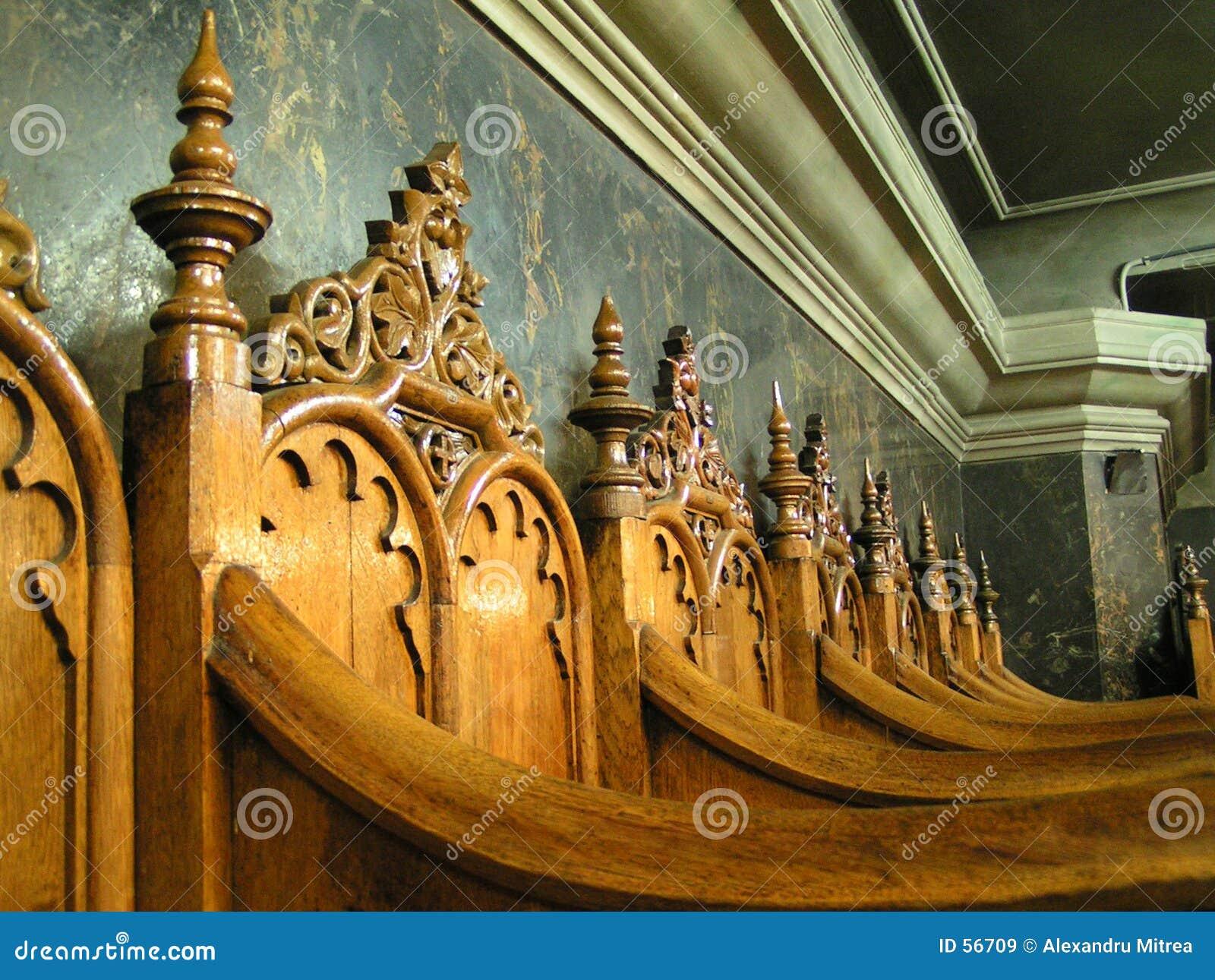 Download Présidences d'église image stock. Image du bois, présidences - 56709