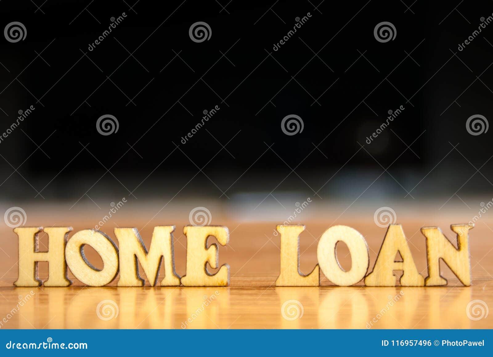Préstamo hipotecario de la palabra