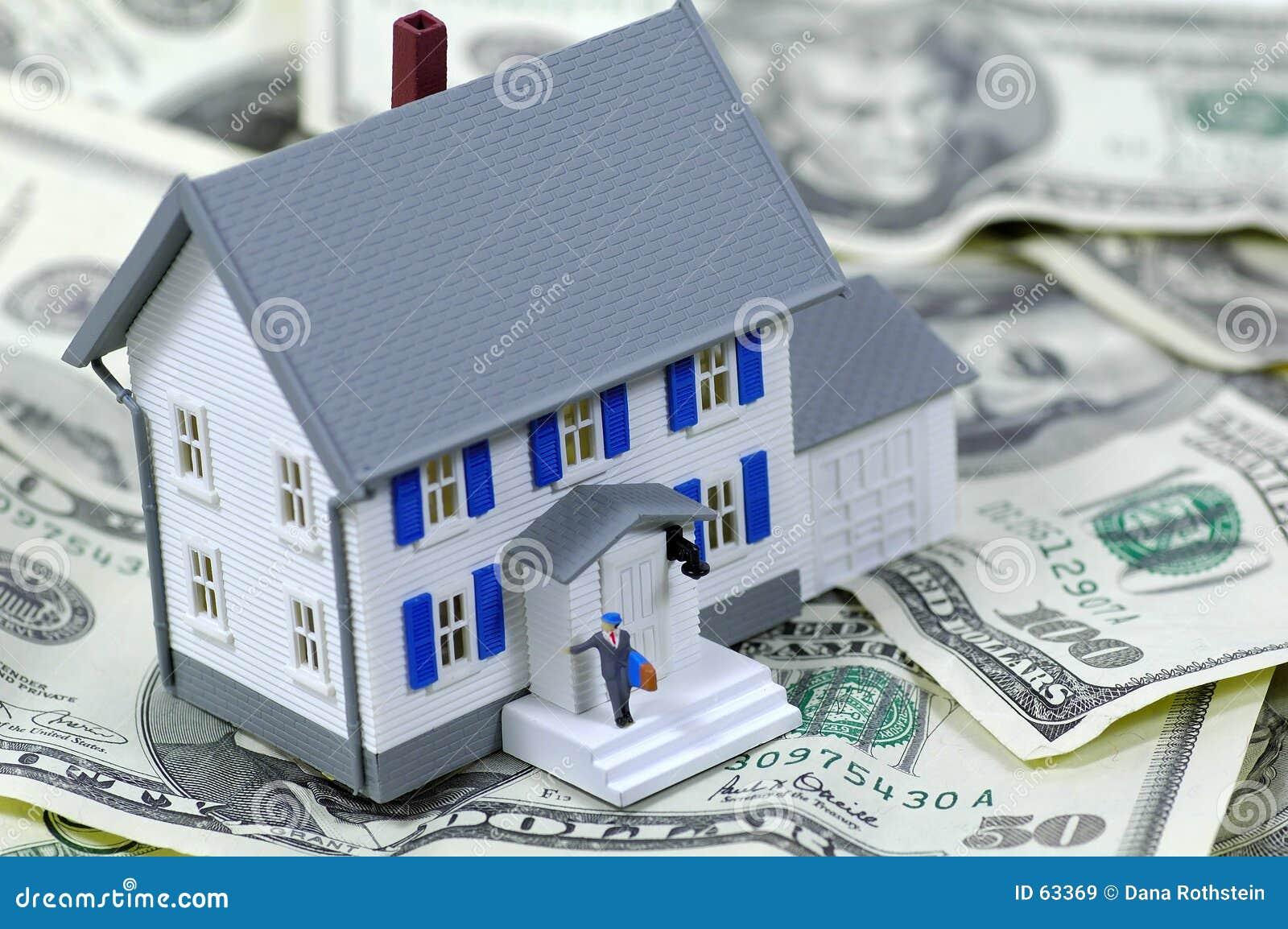 Download Prêt immobilier image stock. Image du investissement, maison - 63369