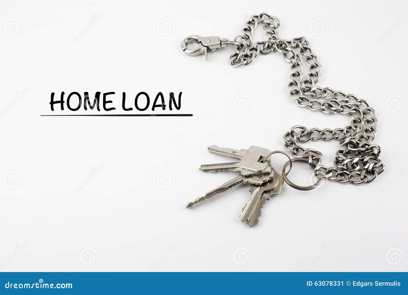 Download Prêt Immobilier Sur Un Fond Blanc Image stock - Image du entrée, credit: 63078331
