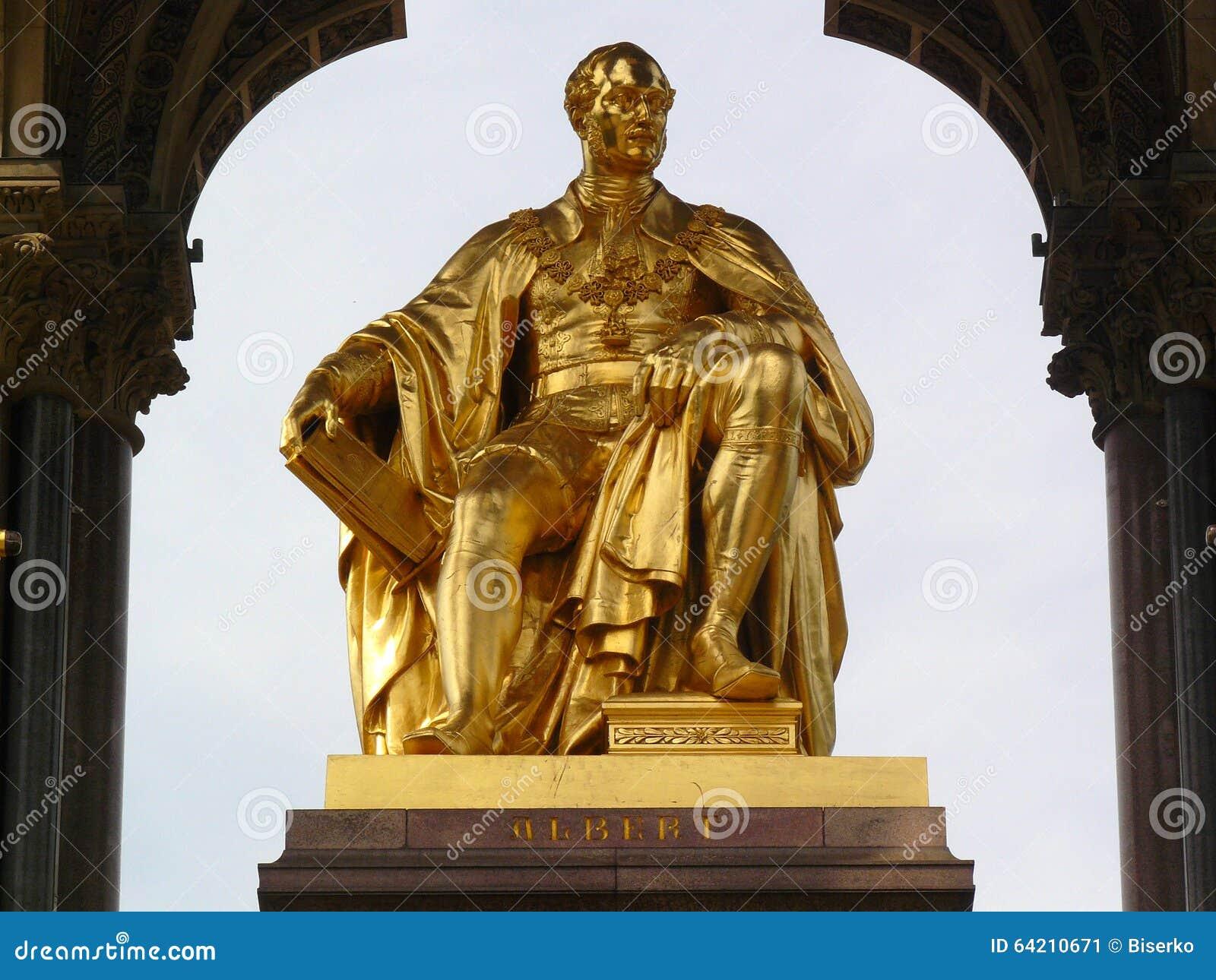 Príncipe Albert del monumento de Saxe-Coburgo y de Gotha