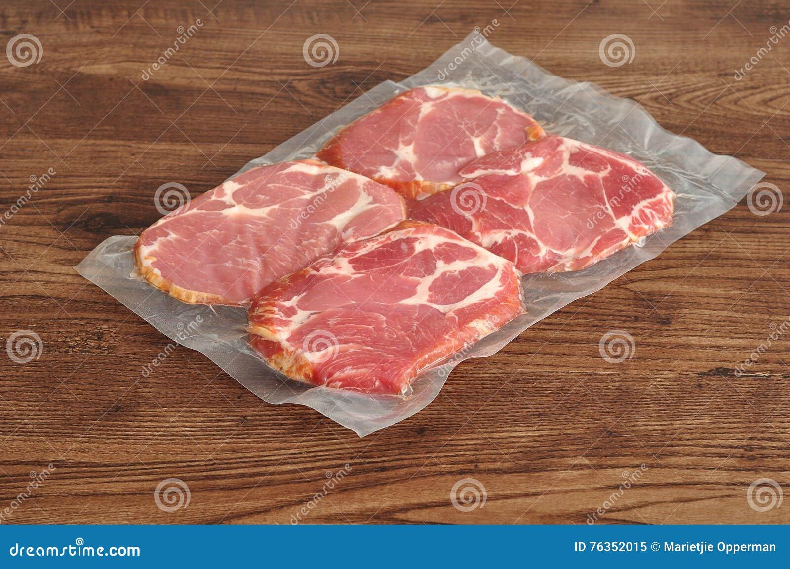 Próżnia - upakowany mięso