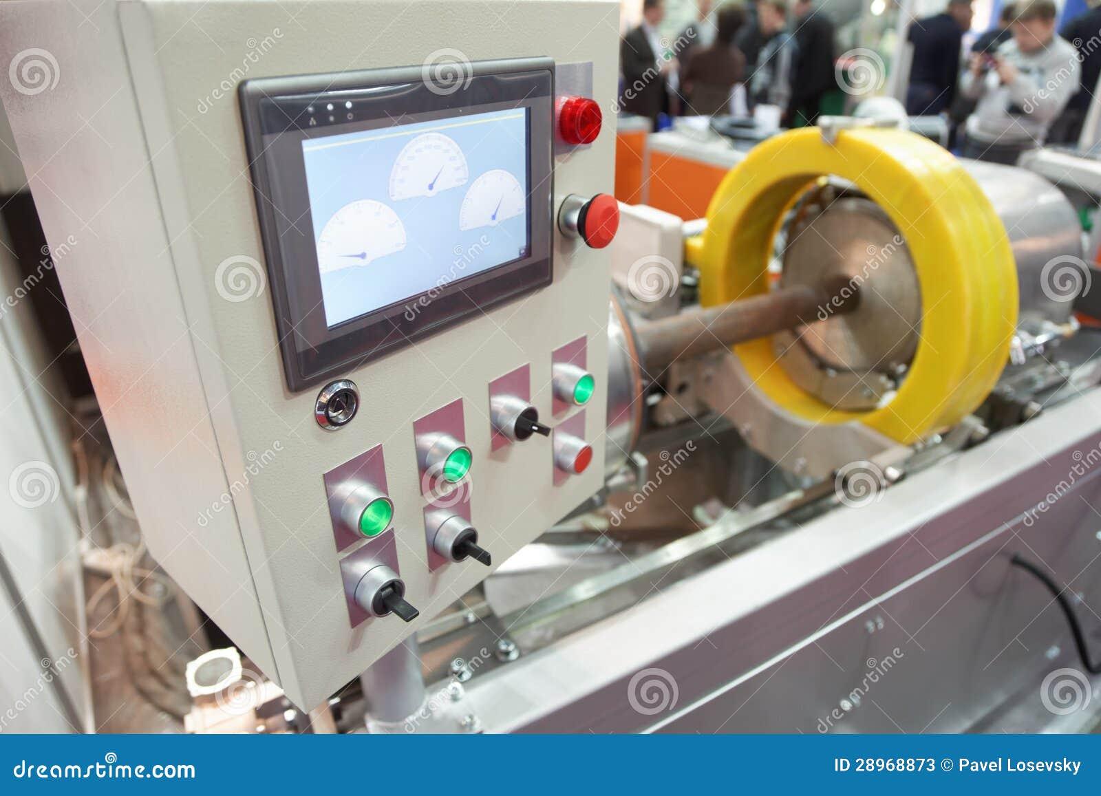 Próbka przemysłowy wyposażenie