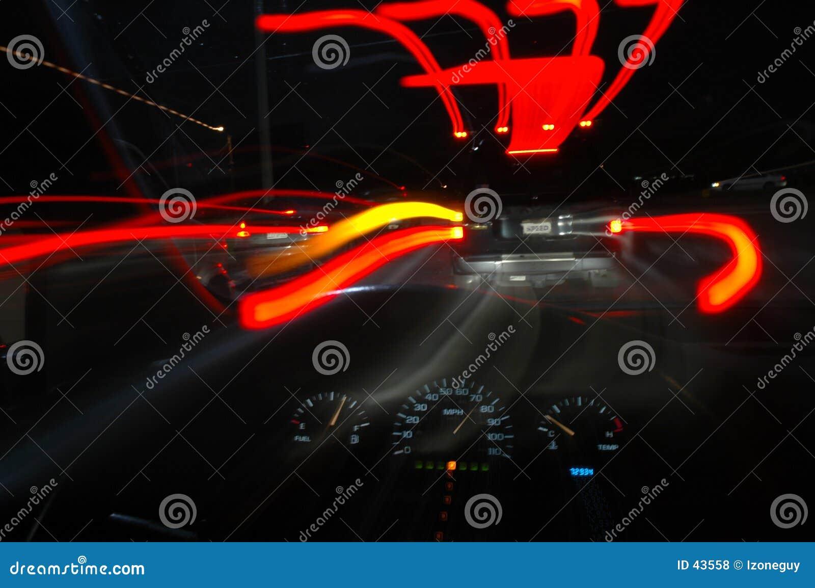 Download Prędkość. zdjęcie stock. Obraz złożonej z smuga, droga, kierowca - 43558