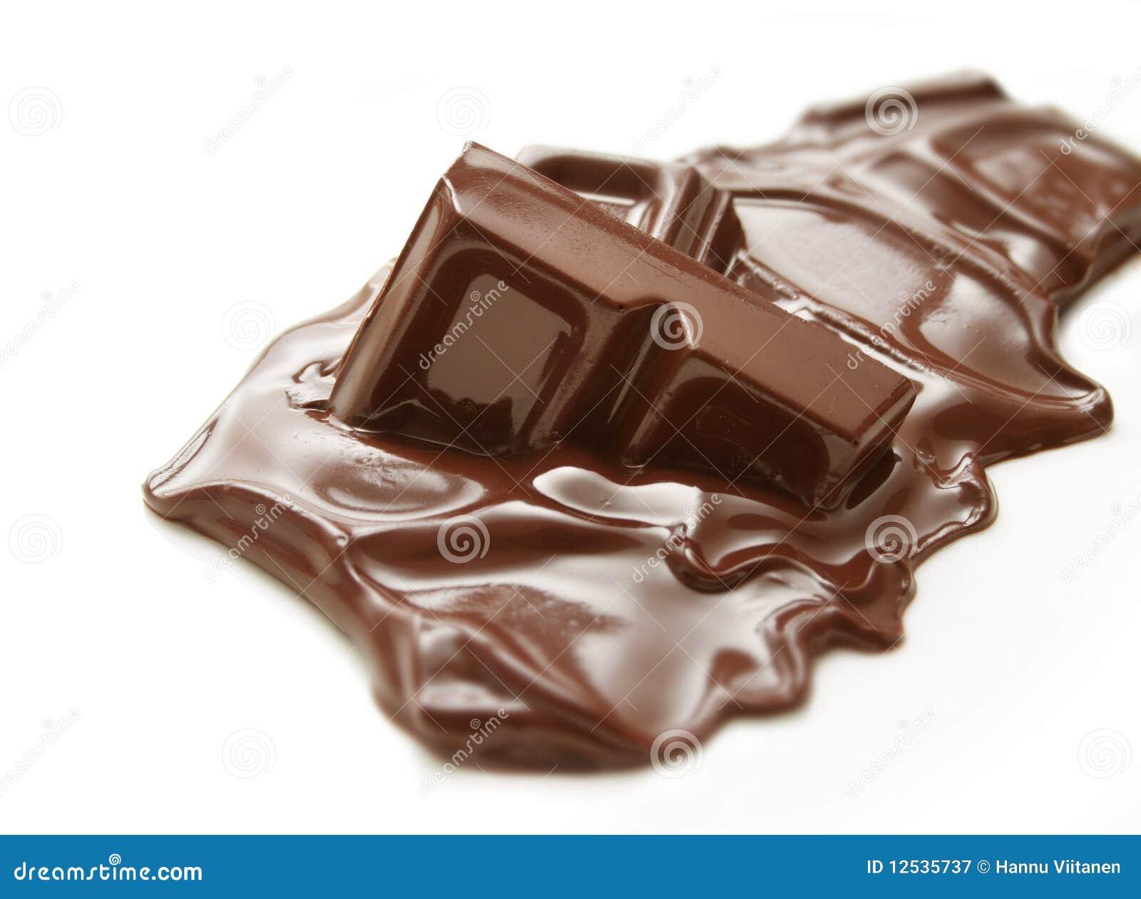 Prętowy czekoladowy stapianie