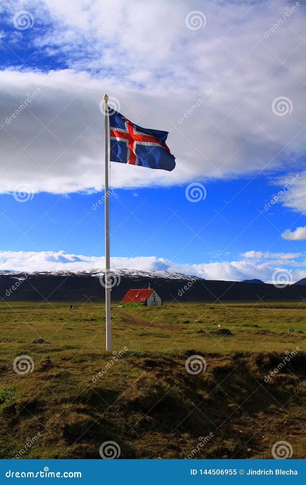 Pr?s de la hutte de Hvitarnes, l Islande