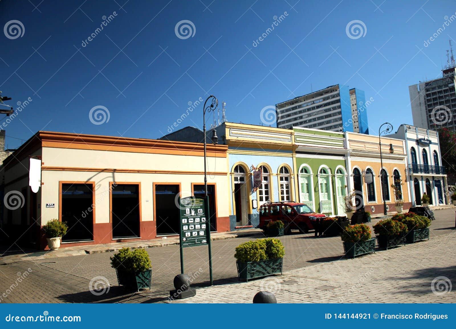 Praça do Congresso historisch centrum van Manaus - Brazilië