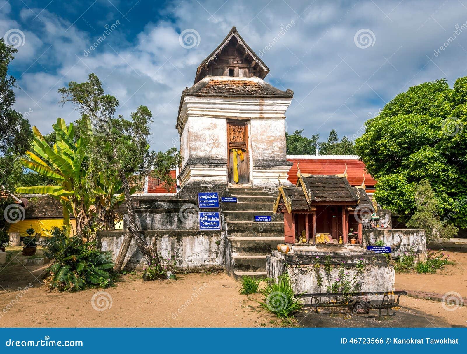 Pra die Lampang Luang, de beroemde oude boeddhistische tempel