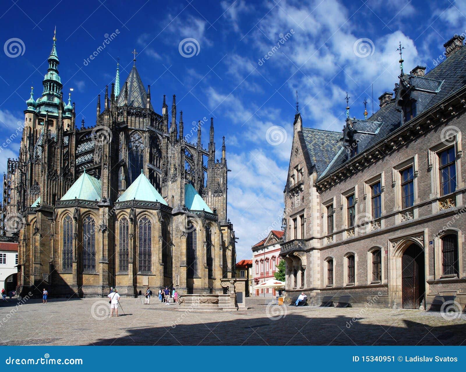 Praag - St. Vitus kathedraal