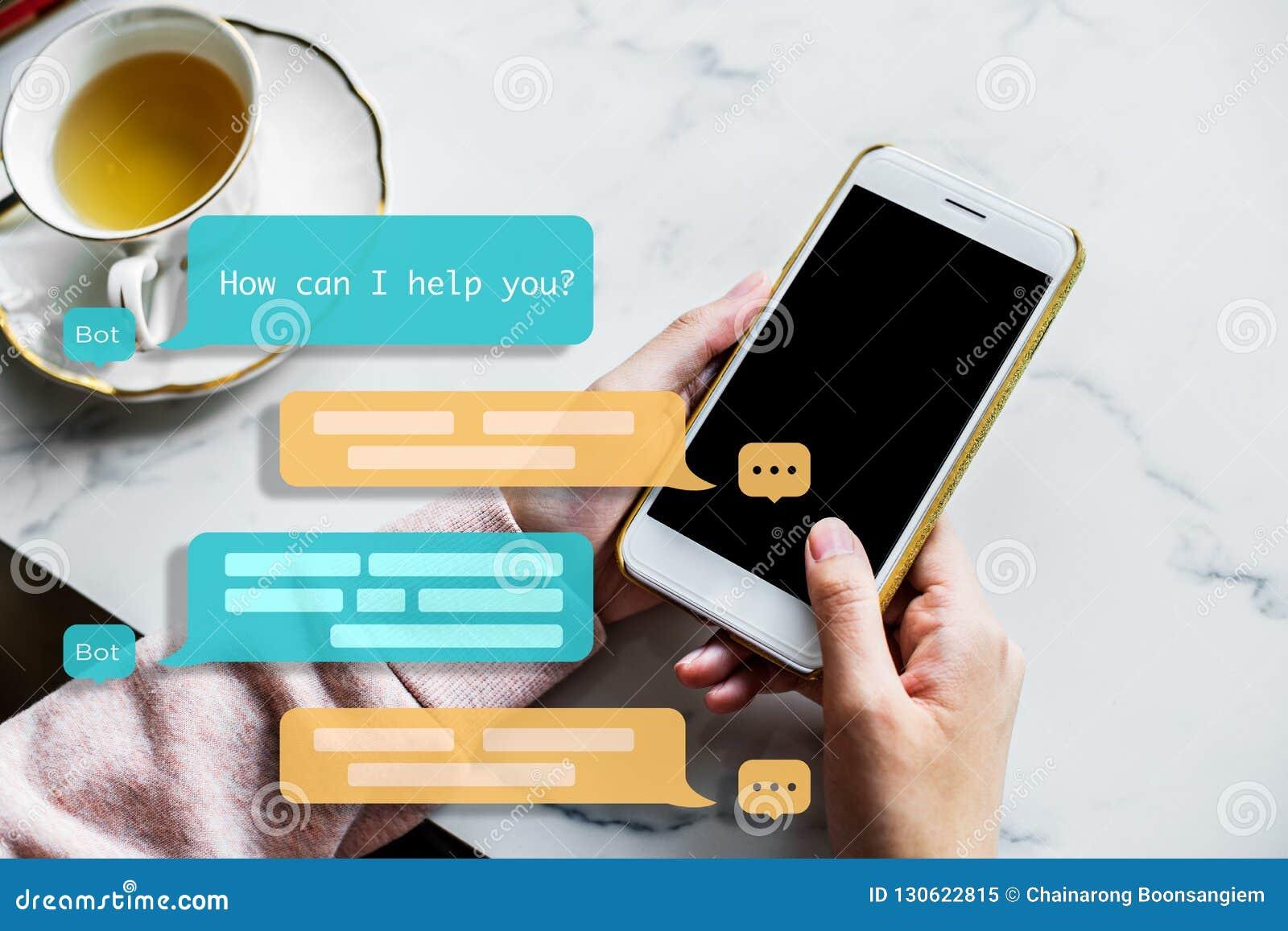 Praatjebot medewerker voor toekomst Machine het leren