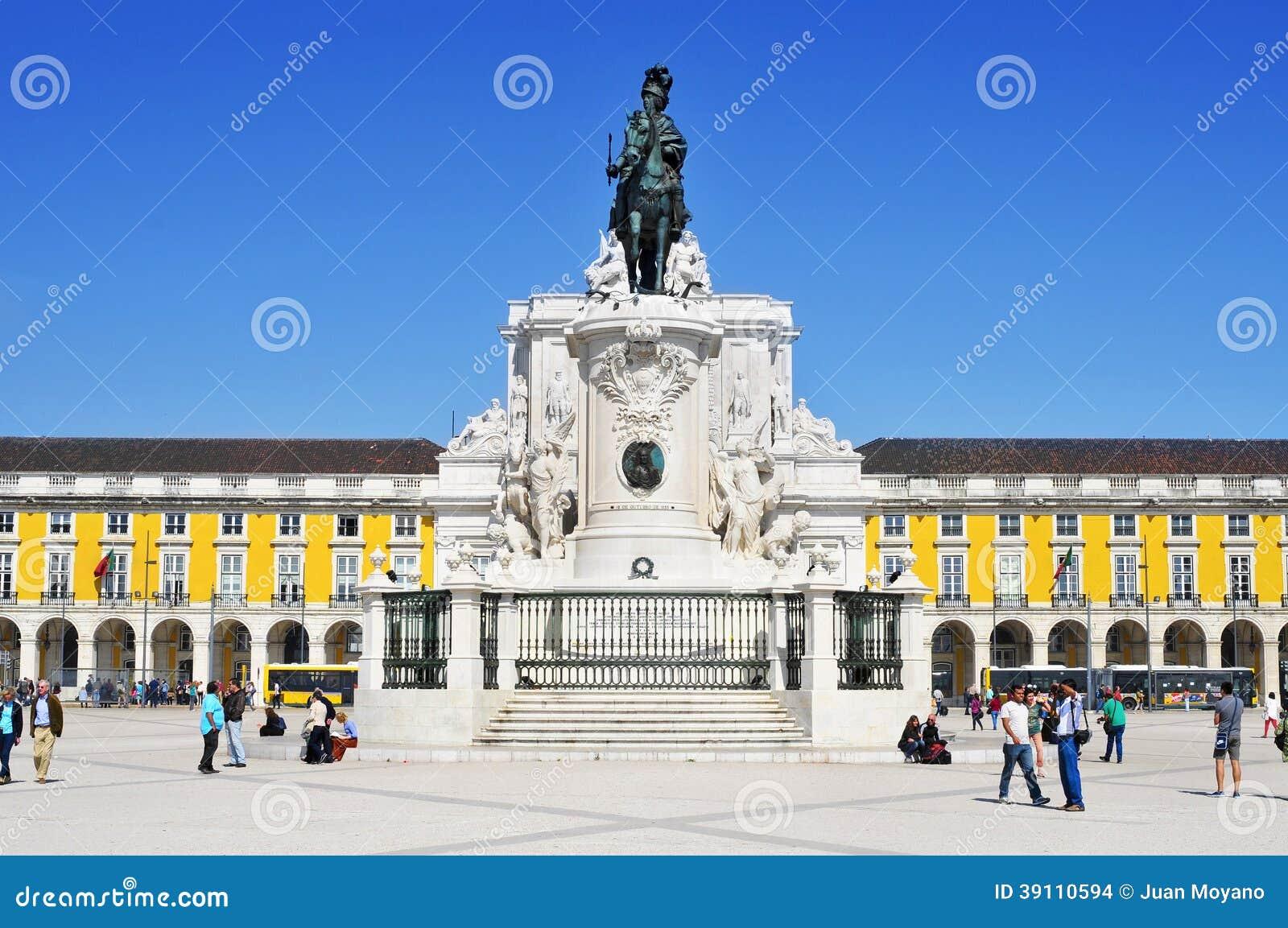 Praca do Comercio in Lissabon, Portugal