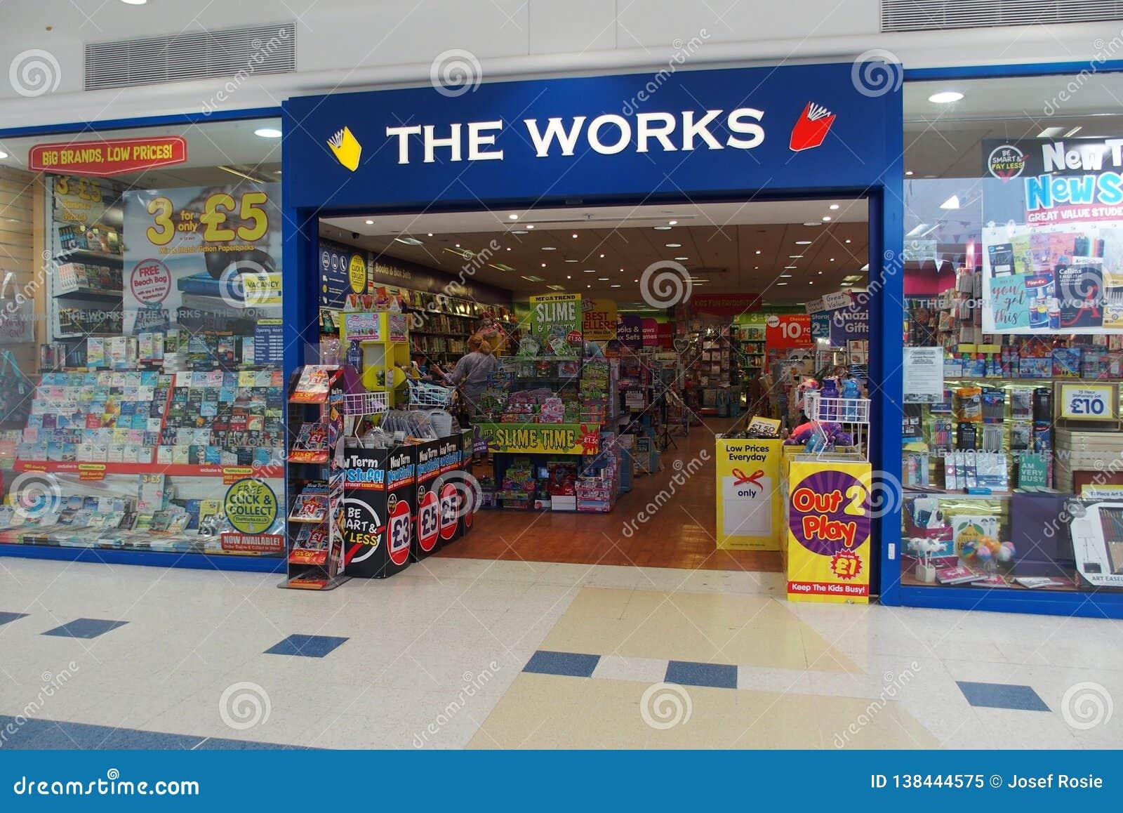 PRACA sklepu przód W ORPINGTON UK