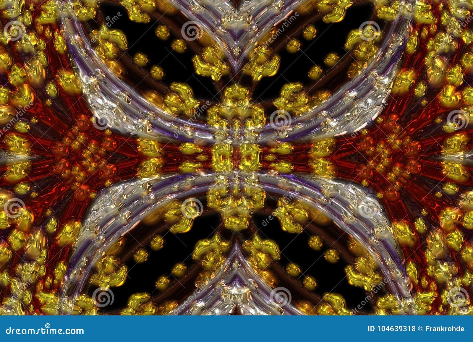 Download Prachtig Samenvatting Geïllustreerd Glasontwerp Stock Illustratie - Illustratie bestaande uit vermaak, decoratief: 104639318
