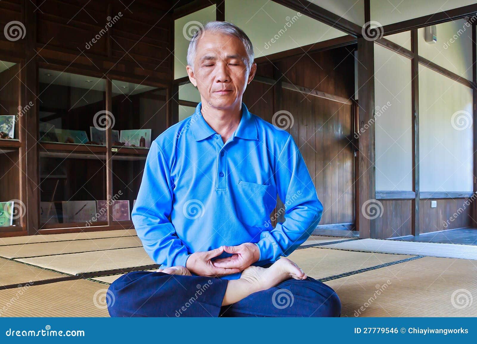 Practicing Zen meditation